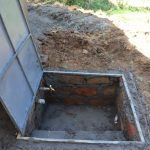 The Water Project: Friends Kisasi Secondary School -  Drawing Point Construction With Cover