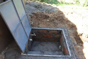 The Water Project:  Drawing Point Construction With Cover