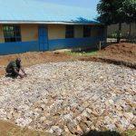 The Water Project: Ivakale Primary School & Community - Rain Tank 2 -  Setting Tank Fundation
