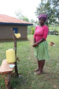 The Water Project:  Next To The Handwashing Station