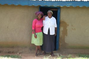 The Water Project:  Rose With Her Mom At Home