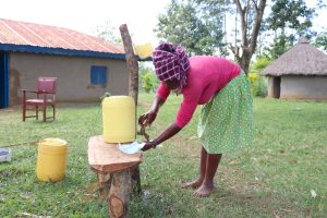 The Water Project:  Rose Washes Her Hands
