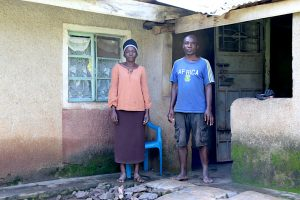 The Water Project:  David And His Wife At Home