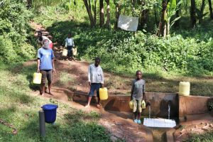The Water Project:  Distancing At The Spring