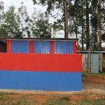 The Water Project: Ivakale Primary School & Community - Rain Tank 2 -  Boys Vip Latrines