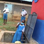 The Water Project: Ivakale Primary School & Community - Rain Tank 2 -  Thumbs Up For Clean Water