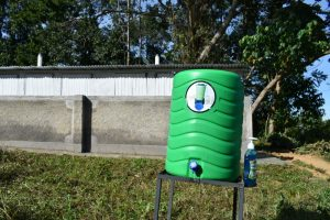 The Water Project:  Handwashing Station Ready For Use