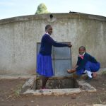 The Water Project: Bulukhombe Primary School -  Pupils Splashing Water