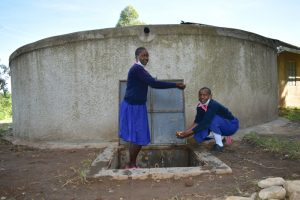 The Water Project:  Pupils Splashing Water