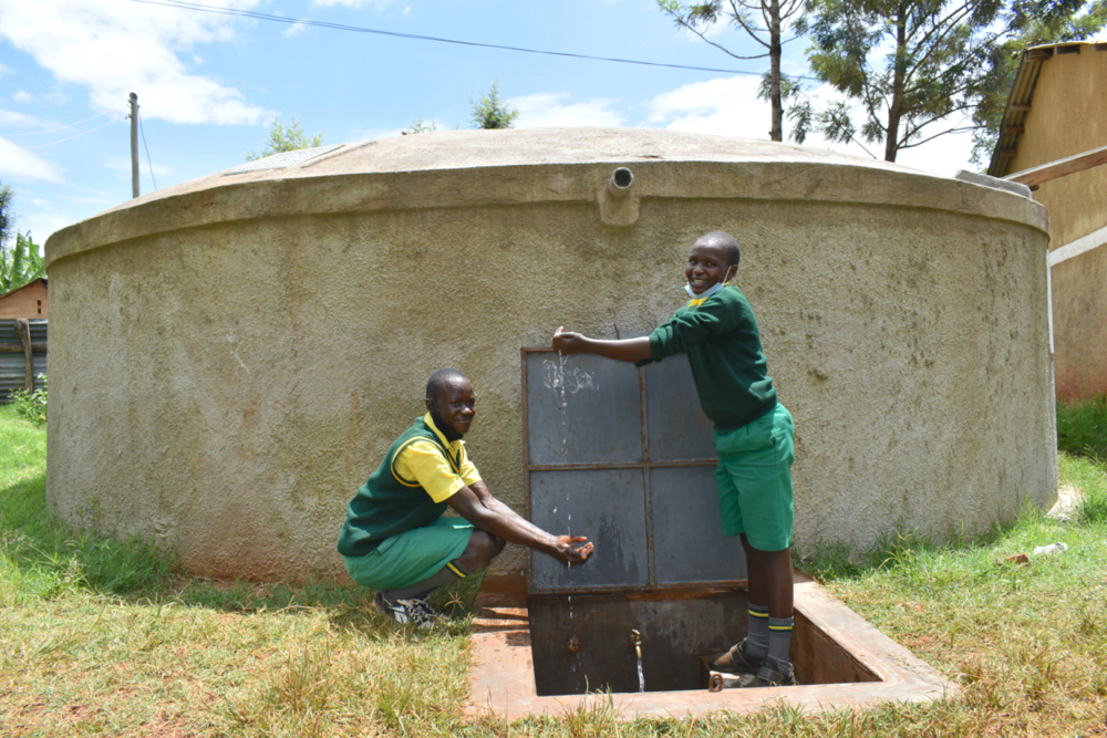 The Water Project : kenya20124-celebrating-clean-water-9