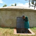 The Water Project: Gamalenga Primary School -  Taking A Drink