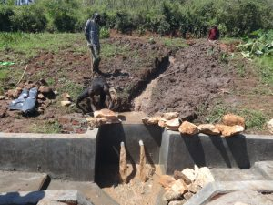 The Water Project:  Backfilling Begins