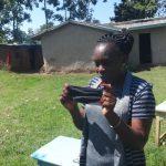 The Water Project: Mahira Community, Anunda Spring -  Training On Proper Mask Wearing