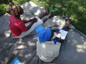 The Water Project:  Women Following The Training