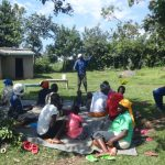 The Water Project: Mahira Community, Anunda Spring -  Committee Chair Addresses The Group