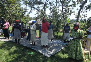 The Water Project:  Community Members Pray At The Training