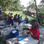 The Water Project: Mahira Community, Anunda Spring -  Practicing The Handwashing Steps