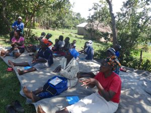 The Water Project:  Practicing The Handwashing Steps
