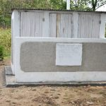 The Water Project: Isango Primary School -  Completed Latrine Block