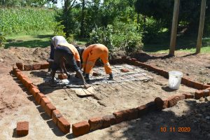 The Water Project:  Construction Of Vip Latrines