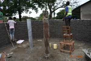 The Water Project:  Creating And Plastering Inner And Outer Walls