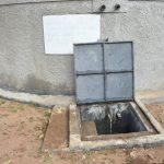 The Water Project: Isango Primary School -  Water Flowing