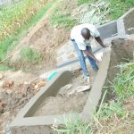 The Water Project: Maraba Community, Nambwaya Spring -  Building The Stairs