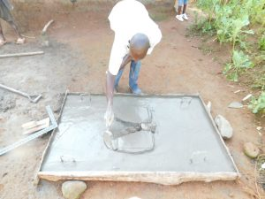 The Water Project:  Casting Of Sanitation Platforms