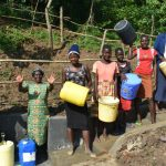 The Water Project: Maraba Community, Nambwaya Spring -  Happy And Satisfied Community