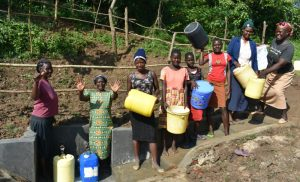 The Water Project:  Happy And Satisfied Community