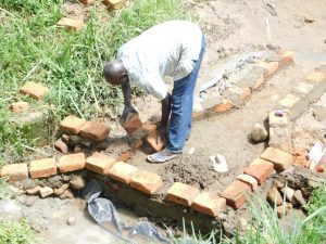 The Water Project:  Brickwork Begins