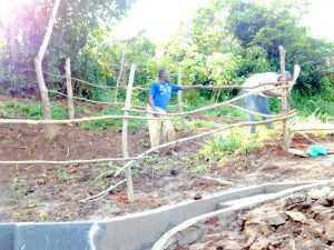 The Water Project:  Building The Fence