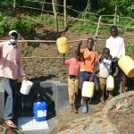 The Water Project: Maraba Community, Nambwaya Spring -  Celebrating The Spring
