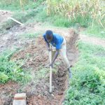 The Water Project: Maraba Community, Nambwaya Spring -  Digging Diversion Channel