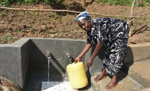 The Water Project:  Easy Access Fetching Water