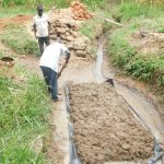 The Water Project: Maraba Community, Nambwaya Spring -  Shaping The Foundation