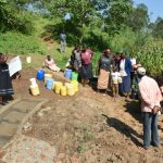 The Water Project: Maraba Community, Nambwaya Spring -  Site Management Training At The Spring