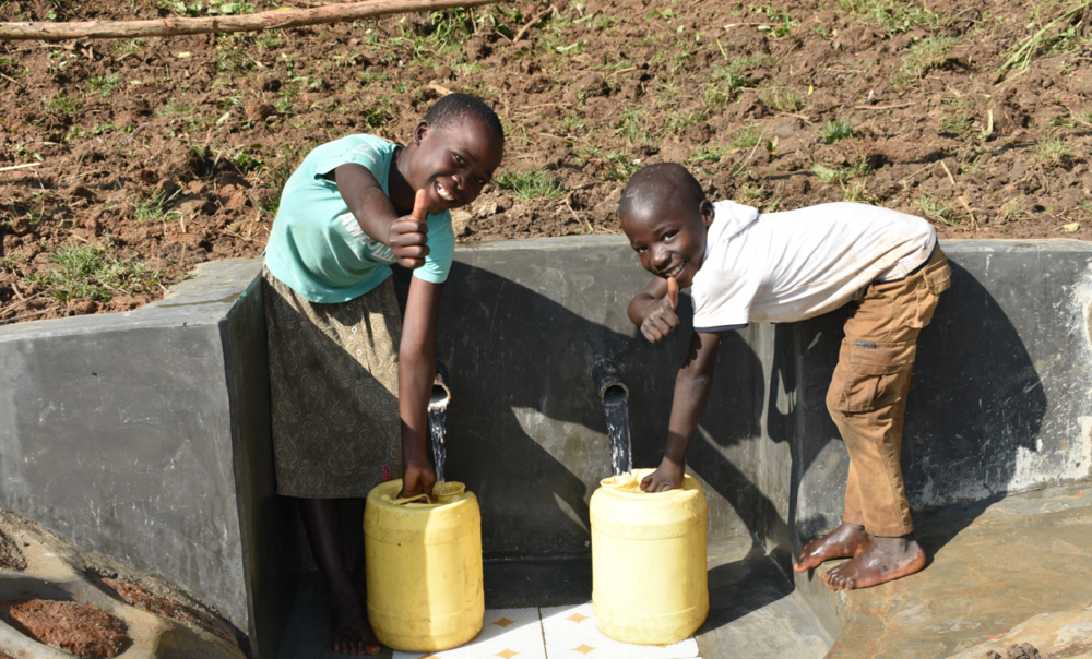 The Water Project : kenya20015-thumbs-up-for-clean-water-2