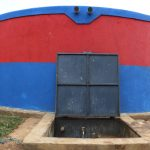 The Water Project: Ivakale Primary School & Community - Rain Tank 2 -  First Water Point In The School