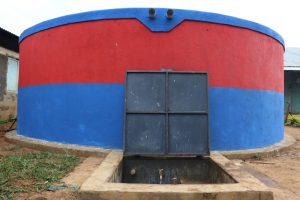 The Water Project:  First Water Point In The School