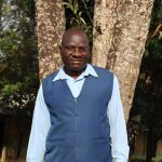 The Water Project: Ivakale Primary School & Community - Rain Tank 2 -  Headteacher Domnic Lando
