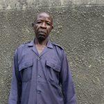 The Water Project: Ivakale Primary School & Community - Rain Tank 2 -  Security Guard Ernest Ambani