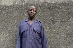The Water Project:  Security Guard Ernest Ambani