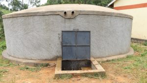 The Water Project:  Completed Rain Water Tank