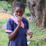 The Water Project: Kapkoi Primary School -  Demonstrating Proper Toothbrushing