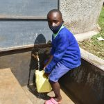 The Water Project: Boyani Primary School -  Fetching Water At The Tank
