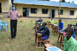 The Water Project:  Headteacher Addresses Students At Training
