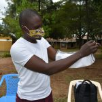 The Water Project: Boyani Primary School -  Mask Making Demonstration