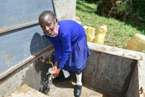 The Water Project:  Pupil Washing Hands