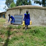 The Water Project: Boyani Primary School -  Clean Water Already In Use